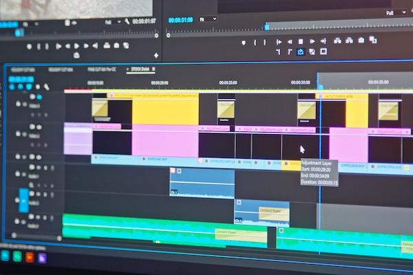 post production editing